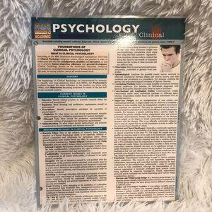 PSYCHOLOGY quick study academic
